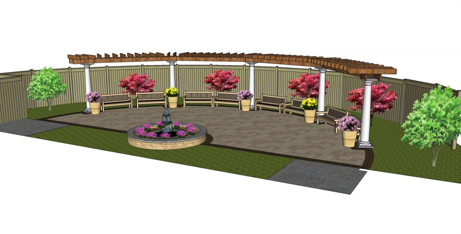 Landscape Design for Green Bay Botanical Gardens