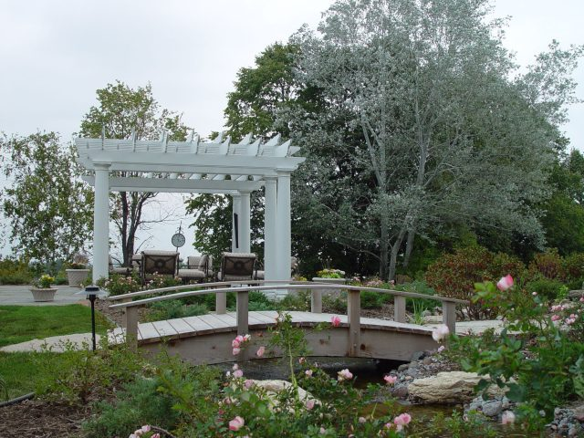 Custom Pergola and Bridge in Green Bay