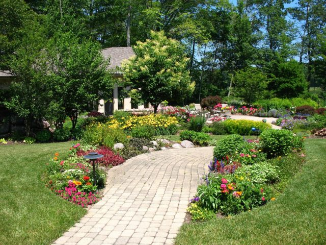 Backyard Landscape Planting Design in Northeastern Wisconsin