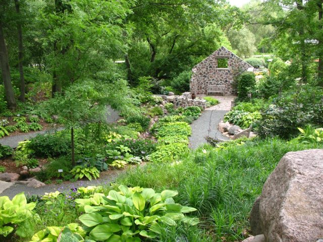 Landscape Planting Design at Green Bay Botanical Gardens