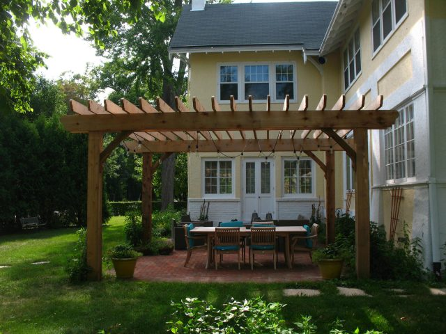 Custom Pergola in Green Bay