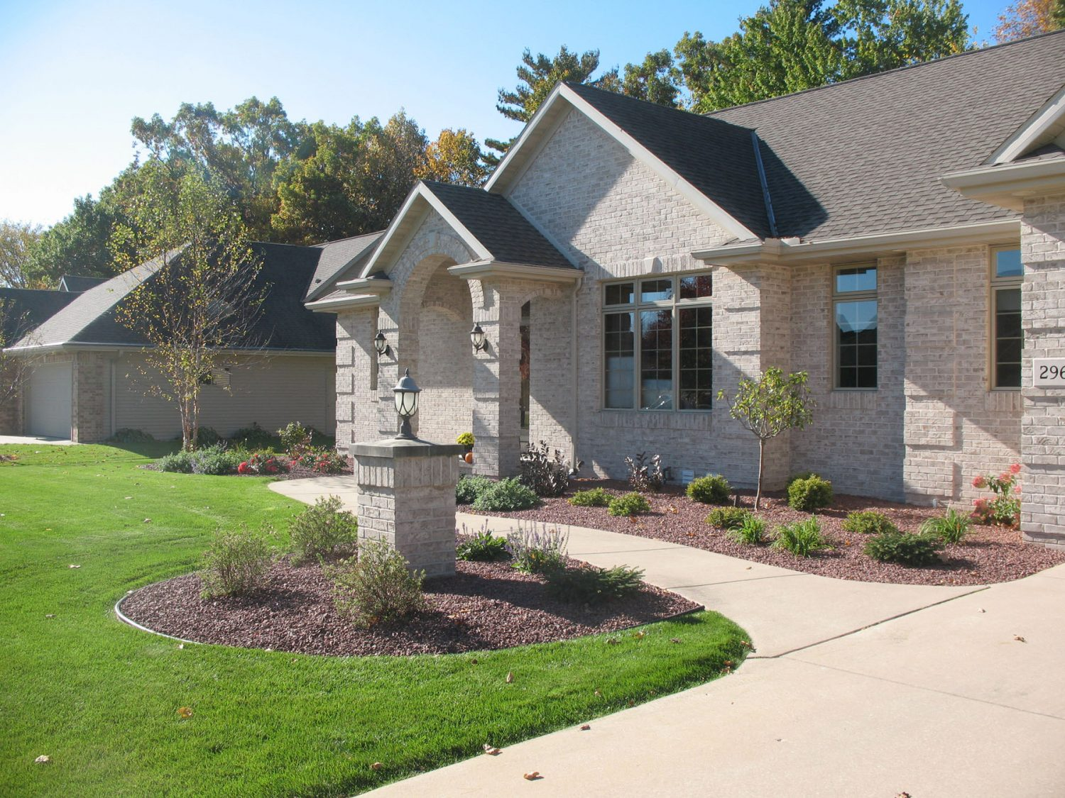 Front Yard Landscaping in Green Bay