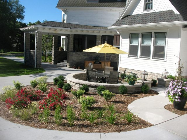 Backyard Landscaping in Appleton