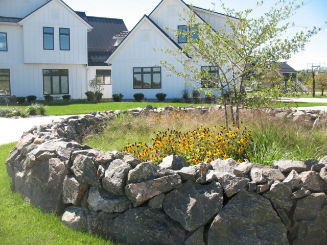 Front Yard Landscaping in Northeastern Wisconsin