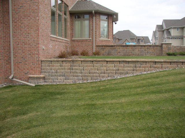Retaining Wall in Appleton