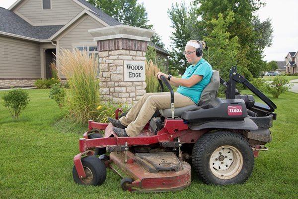 Lawn care for condo association