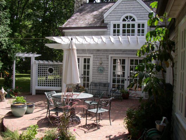Custom Pergola in Green Ba
