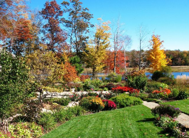 Backyard Landscaping in Northeastern Wisconsin