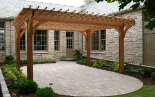 Pergola in Green Bay