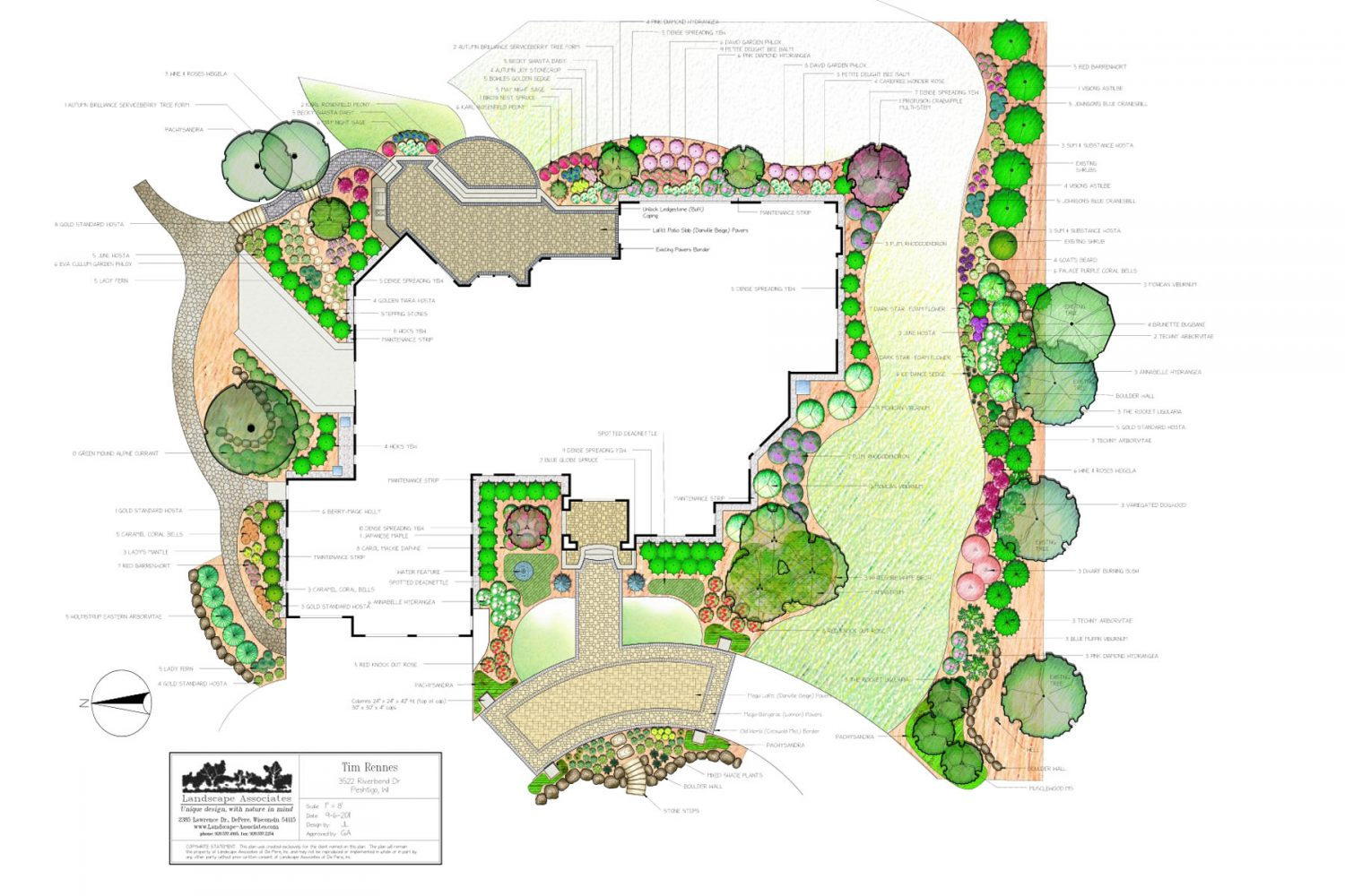 Landscape Design for Client in Northeastern Wisconsin