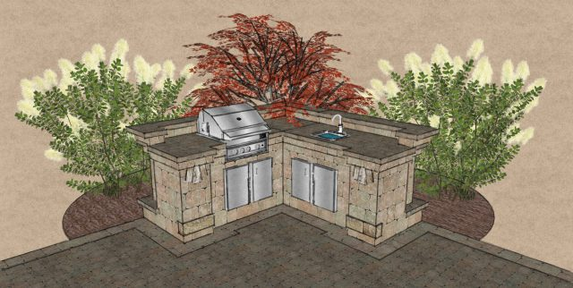 Green Bay 3D Landscape Design