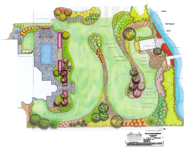 Landscape Design for Client in De Pere