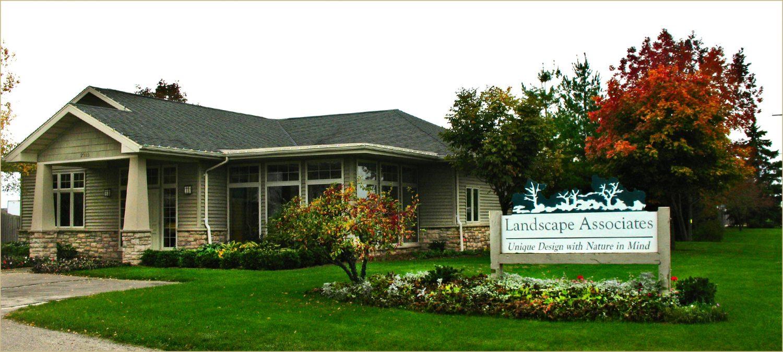 Landscape Associates' store front location.