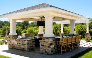 Outdoor kitchen installed in Northeastern Wisconsin